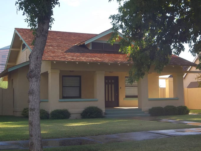 Phoenix historical neighborhood ashland place for Classic house phoenix