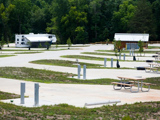 Echo Bluff State Park offers RV campers their choice