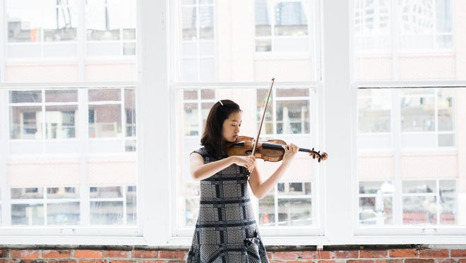 At age 14, Sophie Lee already is an internationally decorated violinist.