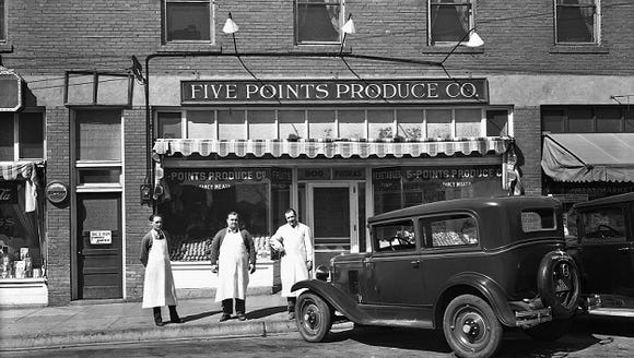Five Points Produce, 909 N. Piedras.