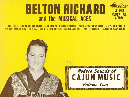 """Belton Richard's albums, """"Modern Sounds in Cajun Music,"""" Vols. 1 and 2, are considered landmarks in Cajun music."""