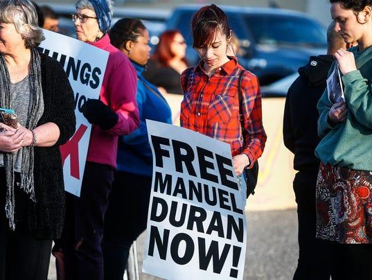 Manuel Duran vigil