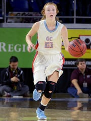 Gibson County's Allie Smithson and the Lady Pioneers