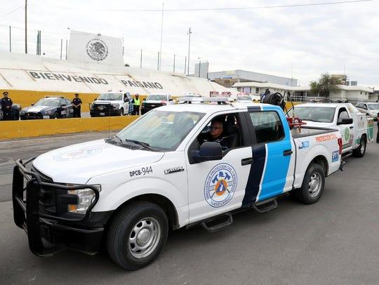Los agentes de Tránsito de Nuevo Laredo esperan el
