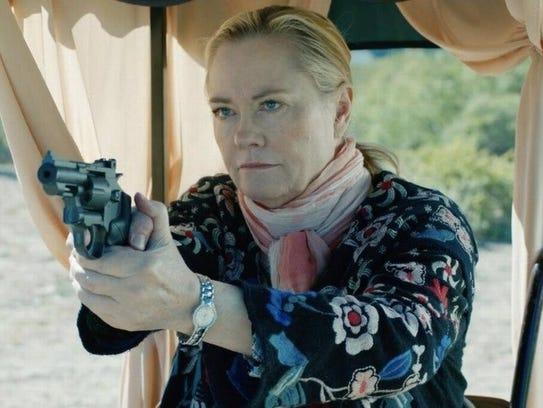 """Cybill Shepherd is an ex-police officer in """"Rose,"""""""