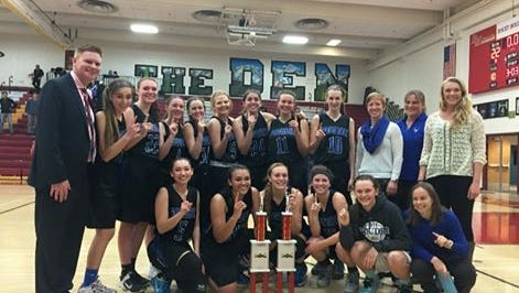 The Poudre girls basketball team defeated Rocky Mountain 27-22 on Saturday to win the Battle of the Rockies tournament.