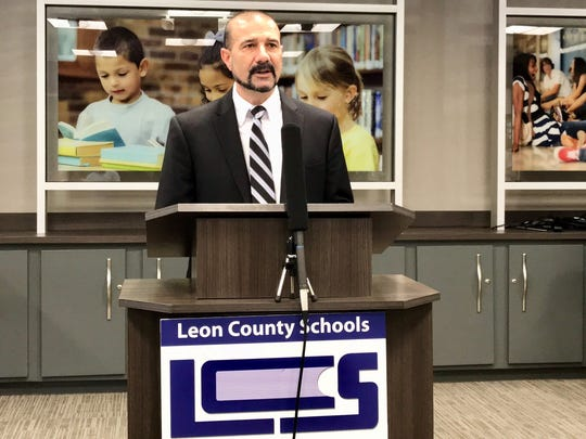 Leon County Schools Superintendent Rocky Hanna
