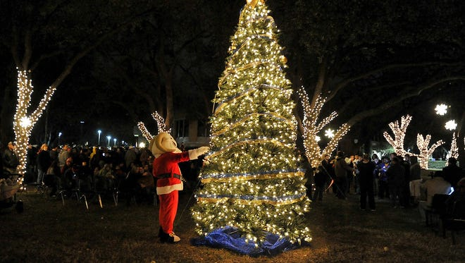 Angelo State University will light its Christmas tree Nov. 29.
