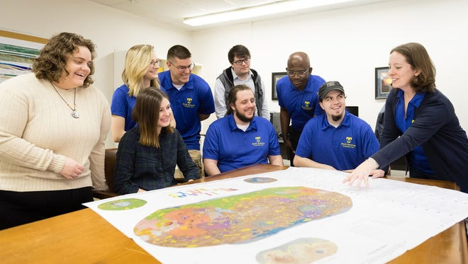 Tennessee Tech researches were able to officially name a crater on the surface of Mars.