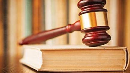 An Ocean County man has sued Burlington Township Municipal Court Judge Dennis McInerney after receiving a jail term for a littering offense.