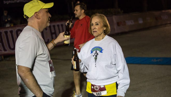 Montes is no stranger to racing. She has been running competitively most of her life, winning the Boston Athletic Association 5K five times, including the past two years in her age group.