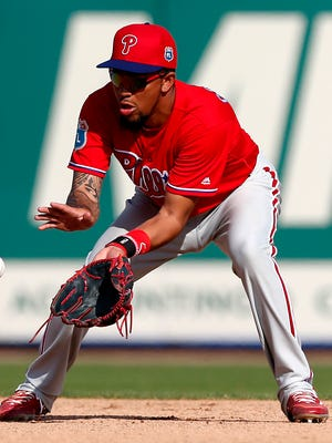 J.P. Crawford is the Phillies' top prospect.