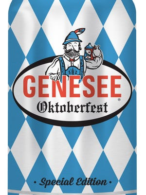 Genesee Oktoberfest, from Genesee Brewing Co. in Rochester, N.Y., is 5.5% ABV.