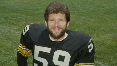 Penn State legend Jack Ham, pictured during his playing days with the Steelers, almost wasn't even a Nittany Lion.