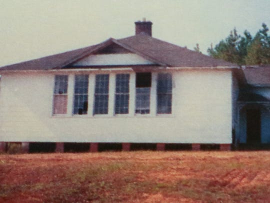 A school building used by Generostee Baptist Church in Starr.