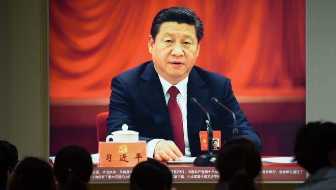 In Beijing on Oct. 10, 2017.