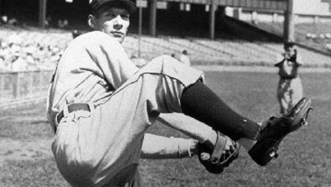 Detroit Tigers pitcher Hal Newhouser led the Tigers to the 1945 World Series title.