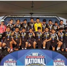 Cómo fue que un equipo de fútbol juvenil del este de Salinas se convirtió en el 3.° del país