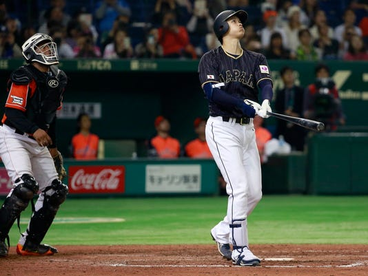 AP JAPAN NETHERLADS BASEBALL S BBI JPN