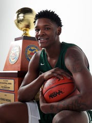 A look at every Michigan Mr. Basketball winner with their school of choice, starting with 2019 Romeo Weems, New Haven (DePaul)