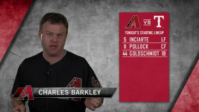 Frank Caliendo impersonated the entire D-Backs lineup.