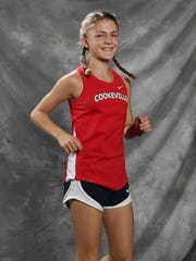 All-Midstate cross country Landri Wilcox, Cookville Thursday Nov. 16, 2017, in Nashville, TN