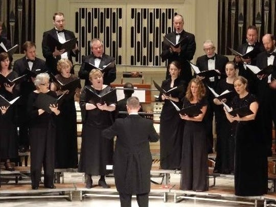 "Mastersingers of Wilmington's Christmas concert Dec. 1 will feature  Britten's ""Ceremony of Carols."""