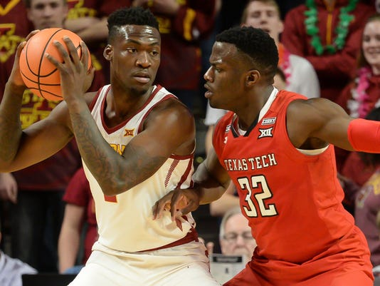 NCAA Basketball: Texas Tech at Iowa State