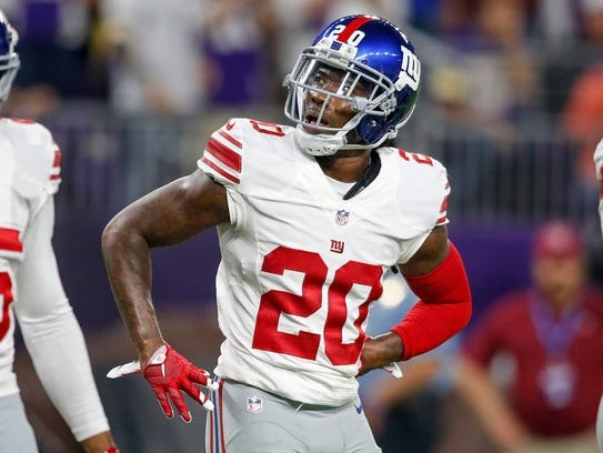 Giants cornerback Janoris Jenkins was indefinitely