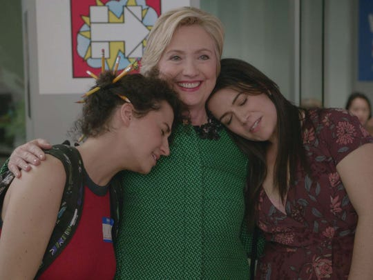 Comedy Central's 'Broad City' hasn't been afraid to get political in the past, inviting on then-presidential candidate Hillary Clinton for a 2016 episode.
