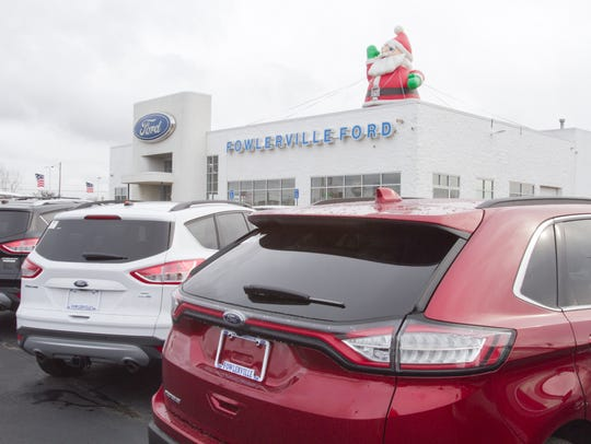 Fowlerville Ford has won several Ford President's Awards