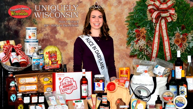 Ann O'Leary is the 69th Alice in Dairyland and serves as the state's Ag Ambassador