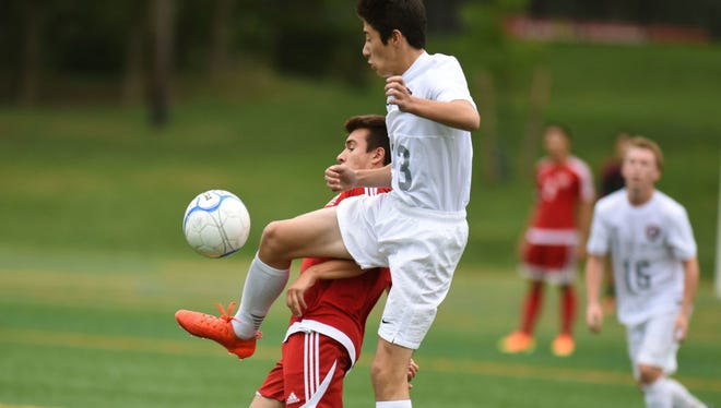 Hiroki Doyle helped Glen Rock reach the second round of the state tournament and finish 11-7.