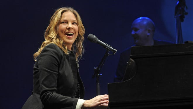 Jazz pianist and singer Diana Krall is coming back to the Riverside Theater June 4.