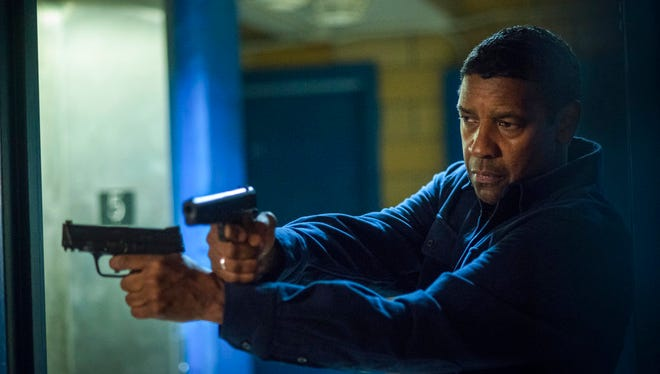 """Denzel Washington stars in """"Equalizer 2."""" The movie opens July 19 at Regal West Manchester Stadium 13, Frank Theatres Queensgate Stadium 13 and R/C Hanover Movies."""