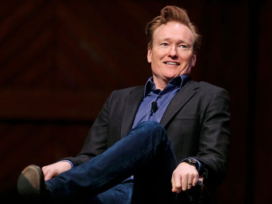 AP PEOPLE CONAN O'BRIEN HARVARD A ENT USA MA