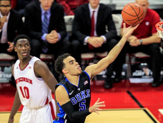 Tyus Jones, Nigel Hayes