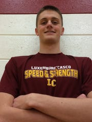 Luxemburg-Casco senior Jake Zeitler