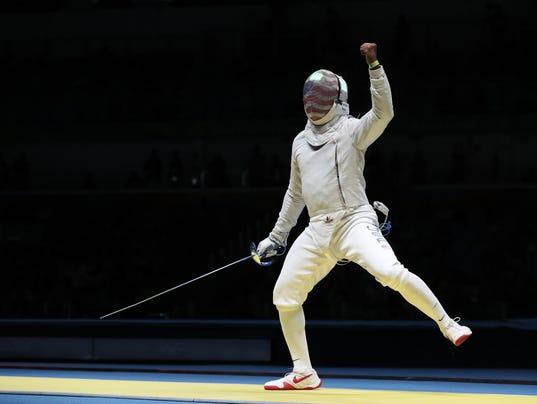 American daryl homer wins historic silver in men s sabre