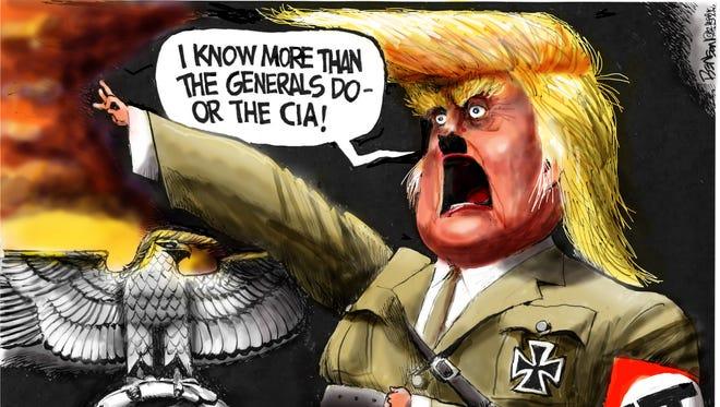 Cartoon for Dec. 15, 2016.