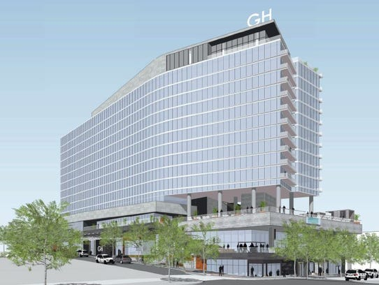 A Rendering Shows The W Hotel Planned For 316 12th