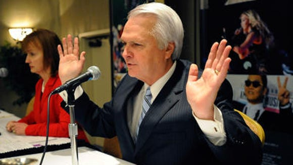 Lt. Gov. Ron Ramsey, R-Blountville, says any gas tax