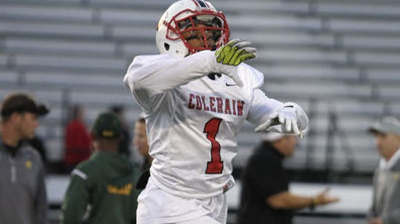 Colerain senior CB Jeff Christian had more than a dozen