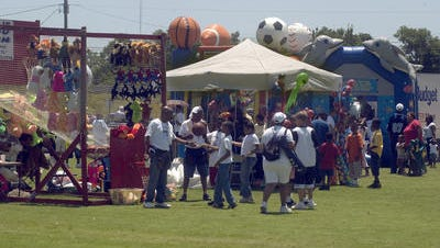 Pensacola Community Arts and Recreation Association's community cookout.