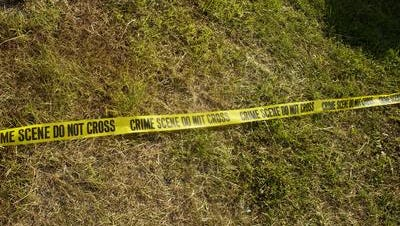 Crime Scene tape. Photo Illustration