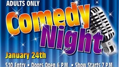 Desert Hot Springs Rotary Community Garden is hosting a comedy night Sunday.