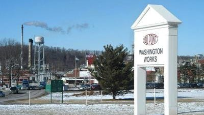 DuPont's Washington Works. The company will face 40 trials a year because plaintiffs allege C-8 exposure at the plant lead to cancer.