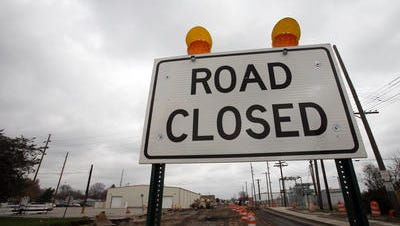 The Hamilton County Highway Department will close a portion of West 106th Street between Spring Mill Road and Ditch Road on Monday until August 29.