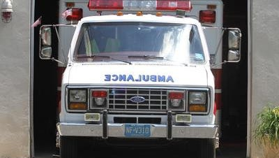 Four people were injured in a crash on westbound Route 33 in Manalapan on Saturday afternoon.