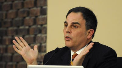 New Albany-Floyd County Schools Superintendent Bruce Hibbard